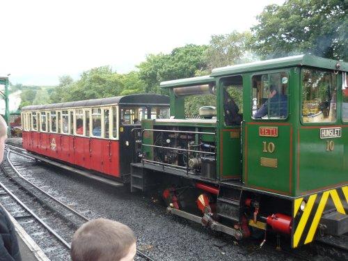 The train up snowdon