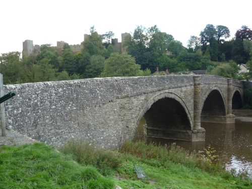 Ludlow Bridge with Castle view