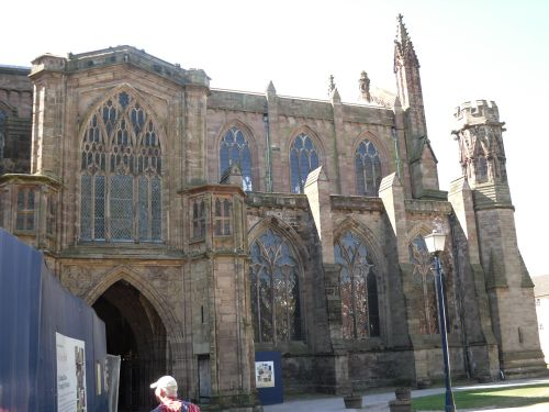 St Ethelbert's Cathedral in Hereford