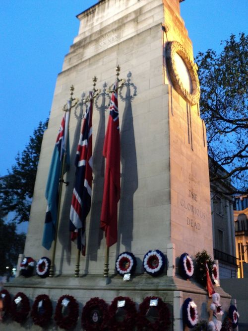 The Cenotaph, Remembrance Sunday, Whitehall, London