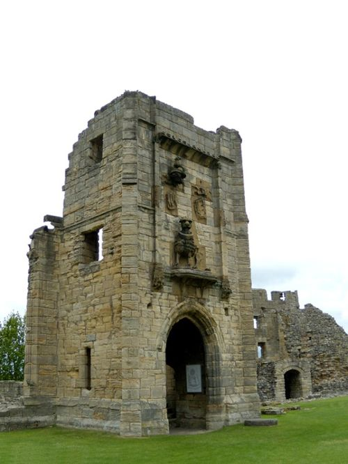 Warkworth Castle Lion Tower