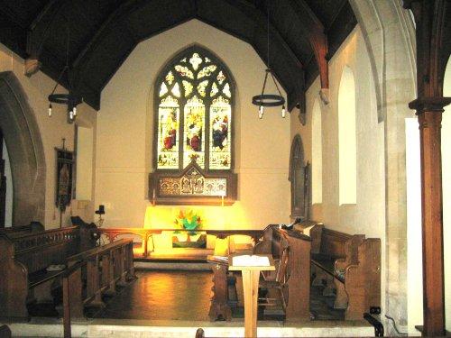 Inside Bladon Church