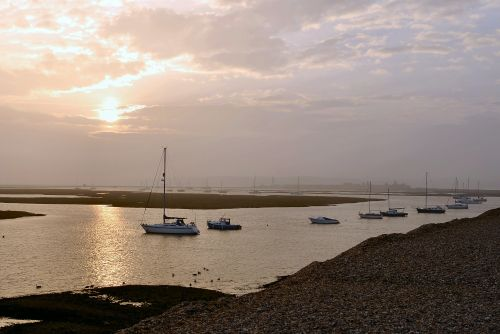 Early morning towards Keyhaven