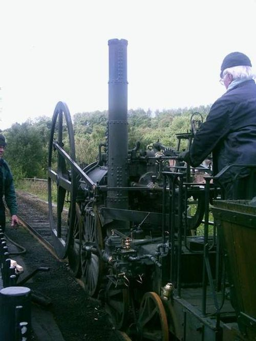 Blists Hill Victorian Town - R. Trevithick First Locomotive - August 2010