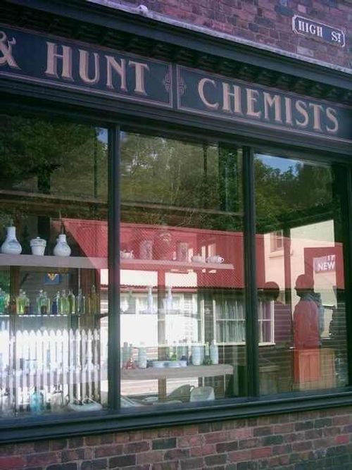 Blists Hill Victorian Town - Chemist Shop - August 2010