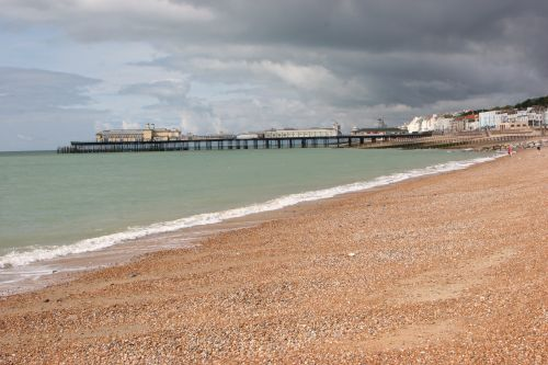 The Beach and Pier, Hastings