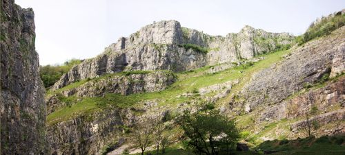 Cheddar cliffs