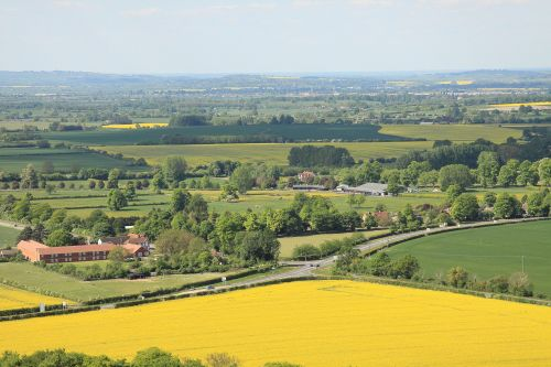 View from Beacon Hill towards Thame