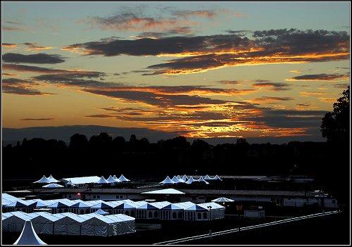 Racecourse Sunset.