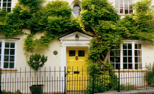 The Yellow Door!