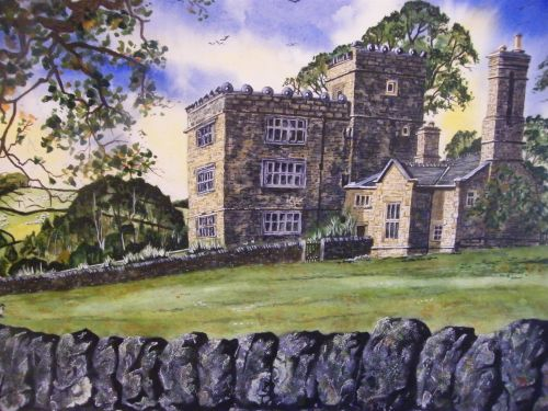 North Lees Hall, Hathersage, Derbyshire