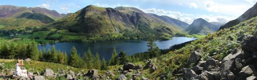 Buttermere Panorama 1