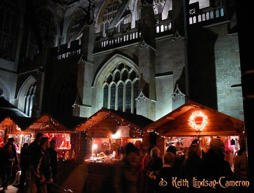 Bath Christmas Fair.