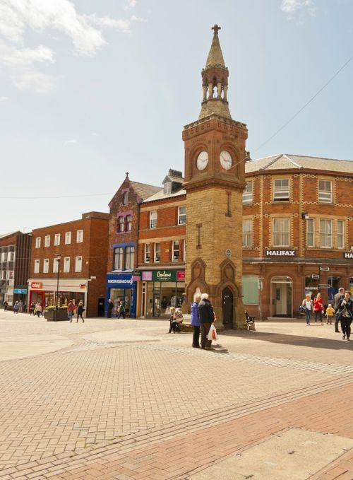 Ormskirk Town Centre