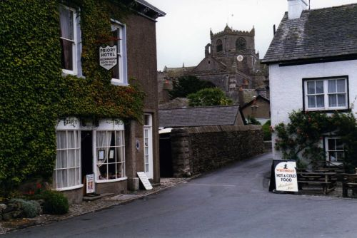 In the village - Cartmel, Cumbria