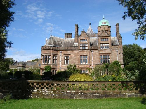 holker hall by victor naumenko at