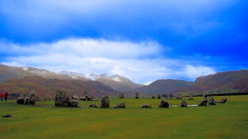 Winter Solstice 2011, Castlerigg Stone Circle, near Keswick, Cumbria