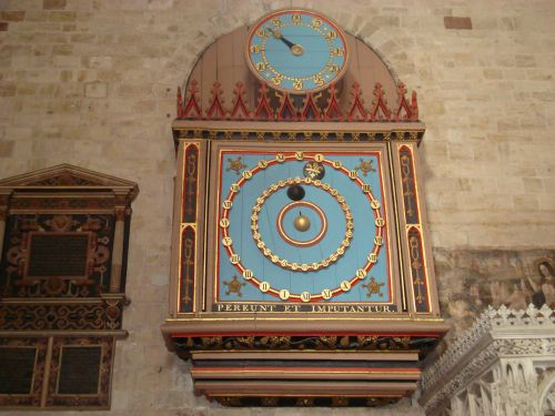 Exeter Cathedral, the Astronomical Clock in North Transept