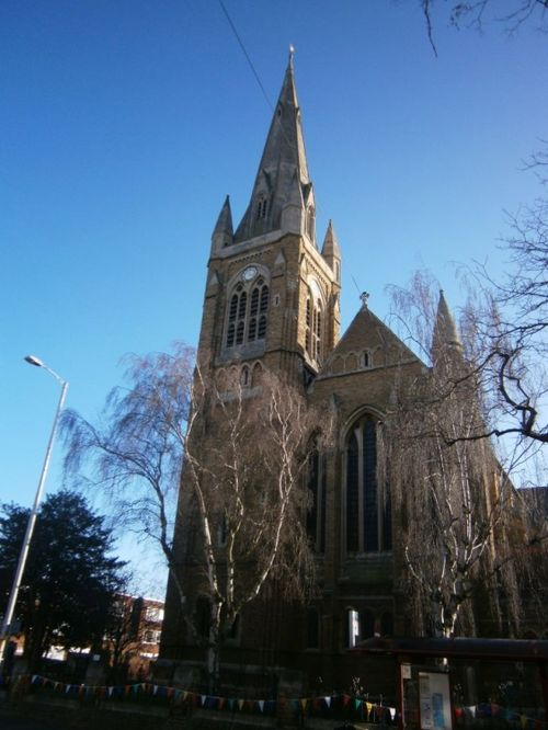 ST MATTHEWS CHURCH, NORTHAMPTON