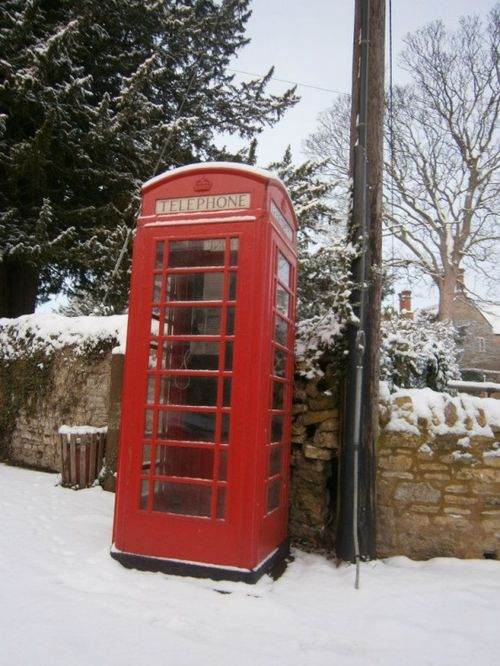 Grendon telephone box