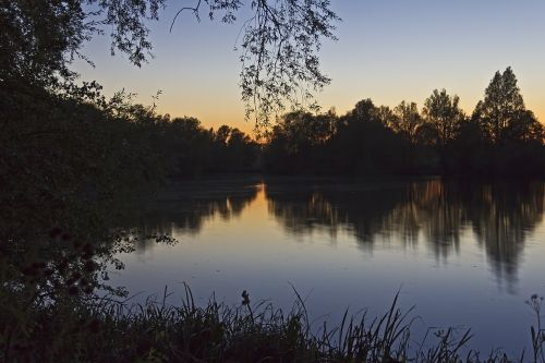 Peaceful Reflection at Barnwell Country Park, Oundle, Northamptonshire