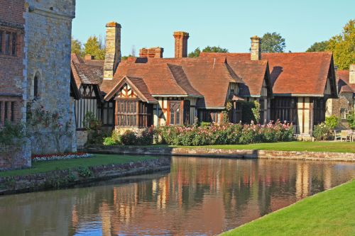 Tudor Buildings at Hever Castle