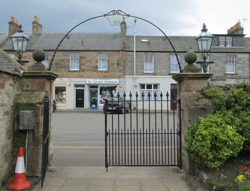 Elie Church Gates