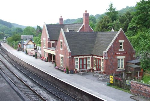 Froghall Railway Station