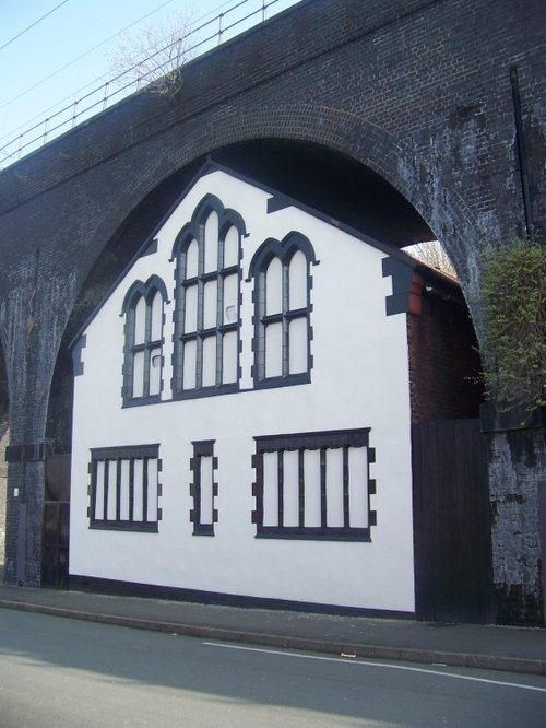 Church under Widnes/Runcorn bridge