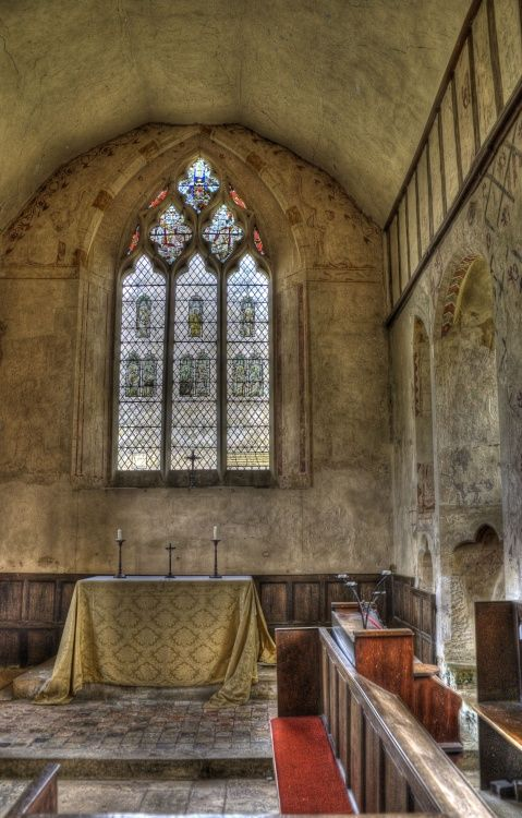 Hailes Church interior