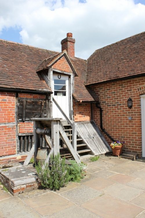 The Courtyard at Jane Austen's House