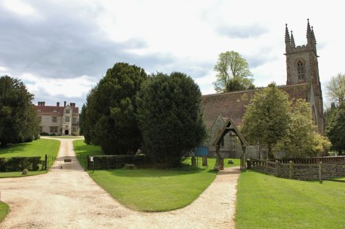 Chawton House and St. Nicholas Church