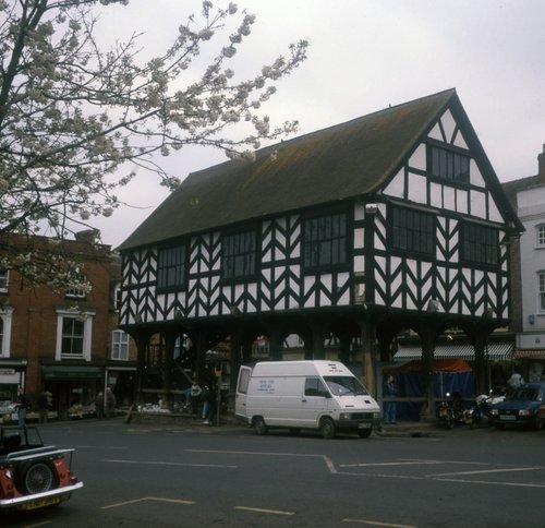 Ledbury half-timbered Market Hall