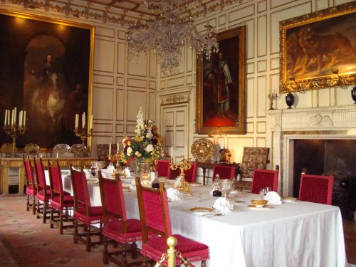 State Dining Room By Victor Naumenko, Warwick Castle State Dining Room Set