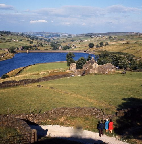 Ponden Hall and Reservoir, Haworth