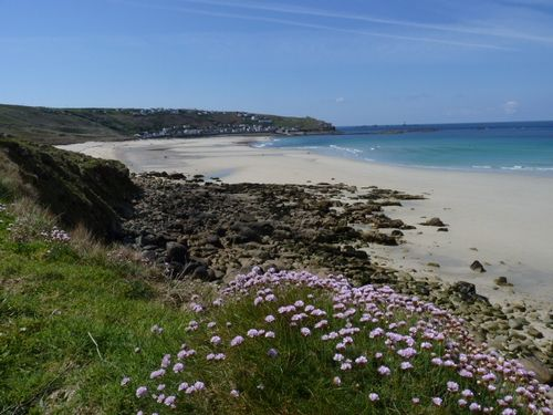 Beautiful beach at Sennen Cove, Cornwall