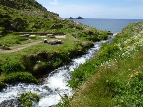 The beautiful Cot Valley near St Just, Cornwall