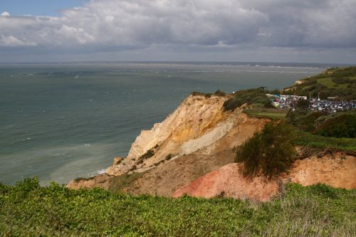 Cliffs at the Needles on the IOW
