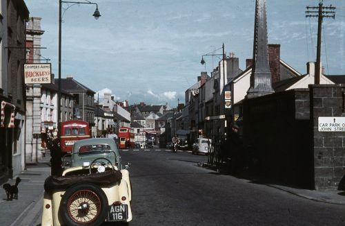 Lammas Street, Carmarthen