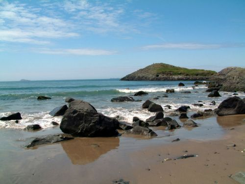 Whitesands Bay in the Pembrokeshire Coast National Park