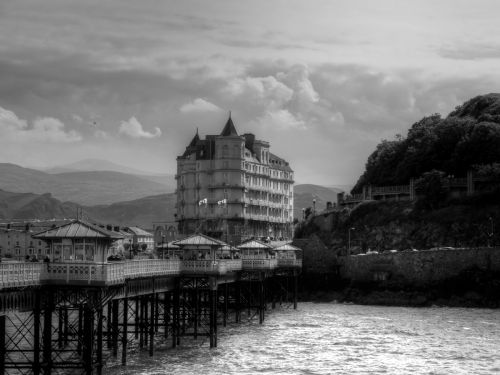 Llandudno Pier and the Grand