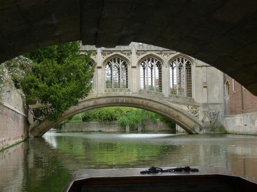 Bridge of Sighs, St.John's College, Cambridge