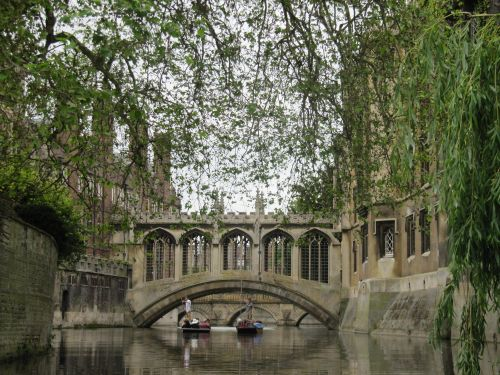 Bridge of Sighs, St John's College, Cambridge