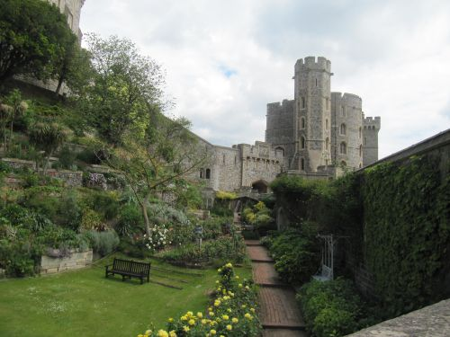 Moat Garden, Windsor Castle