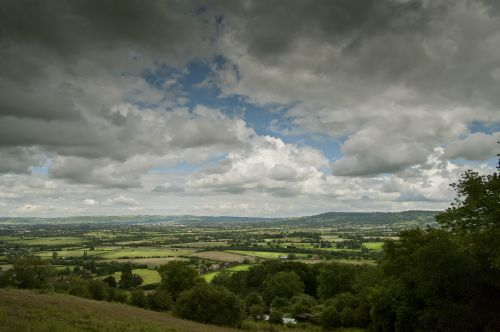 Lowering Skies: Churchdown, Gloucestershire