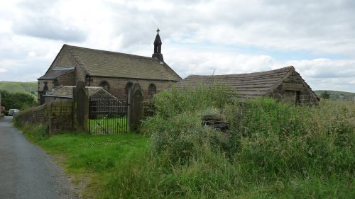 St Thomas Church at Heights Lane, Friarmere