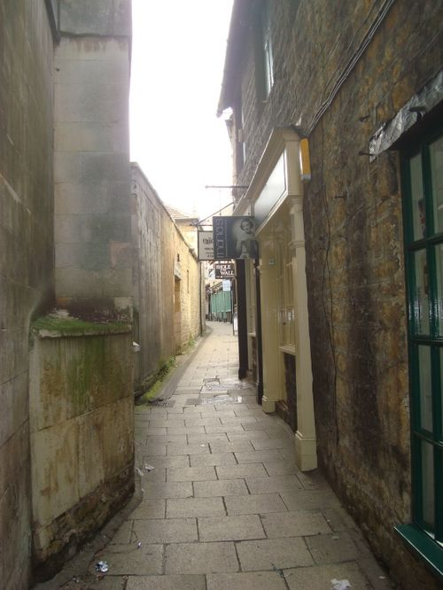 One of the lanes in Stamford