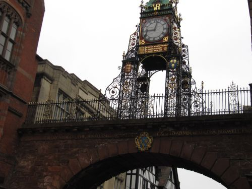 Eastgate and Eastgate Clock, Chester