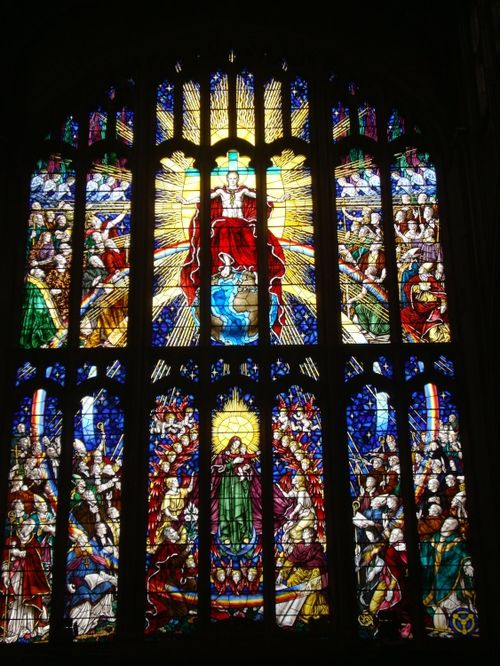 Holy Trinity Church West window