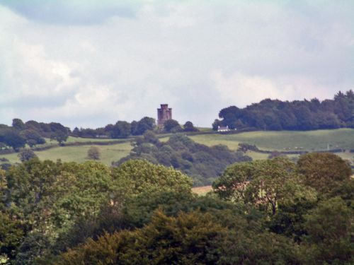 Paxton's Tower from the west.